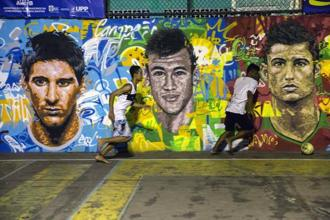 The Fifa World Cup 2014 will kick off at the Corinthians Arena in Sao Paulo on 12 June when Brazil takes on Croatia in the tournament opener. Photo: AFP
