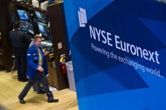 A group of institutional investors will take a 33.36% stake in Euronext at a 4% discount to the IPO price. Photo: Bloomberg