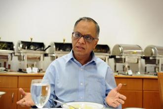 Narayana Murthy will continue as non-executive chairman at Infosys till 10 October, after which he will be designated chairman emeritus. Photo: Aniruddha Chowdhury/Mint