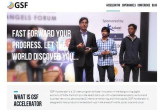 GSF Global Accelerator is a multi-city technology accelerator founded by Rajesh Sawhney in 2012.