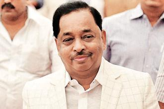 The rebels—Narayan Rane in Maharashtra (in picture) and Himanta Biswa Sarma in Assam—want the chief minister's chair for themselves, said a Congress leader. Photo: PTI