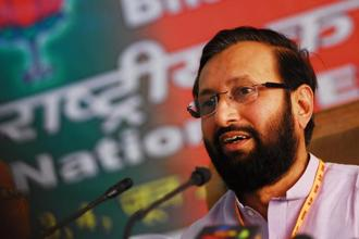 Prakash Javadekar, minister of environment, forests and climate change. Photo: Pradeep Gaur/Mint