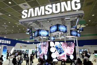 Samsung Electronics said net profit came in at $6.1 billion, its lowest figure for two years and down 19.6% from the same quarter last year. Photo: Bloomberg