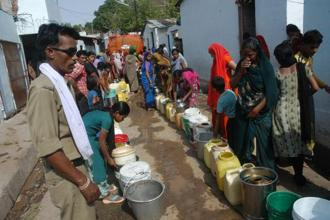 Nearly three-quarters of rural Indian households do not have access to safe drinking water on their premises according to the Census 2011 data. Photo: HT