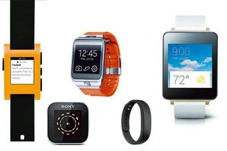 A number of popular brands seem to be focusing on wearable devices.