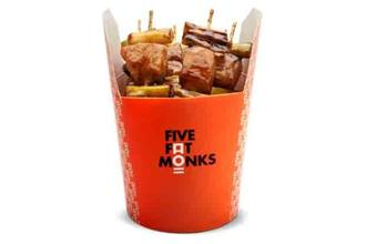Unlike most Indian-Chinese restaurants we've committed to in the past, the Five Fat Monks concept is starkly different—we're calling it Chinese fast-food 2.0