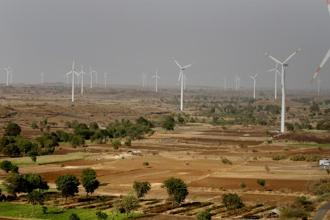 Modi's government last month restored a wind-farm tax benefit, which could propel wind installations to a three-year high of 2,600 megawatts in 2014, according to a Bloomberg report. Photo: Bloomberg