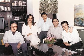 A file photo of the Wadias (from left) Neville Wadia, Maureen Wadia, Jeh Wadia, Nusli Wadia and Ness Wadia. Photo: Hindustan Times