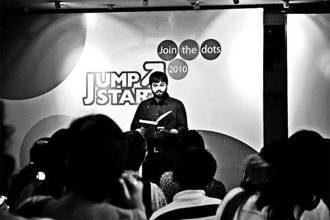A moment from Jumpstart 2010.