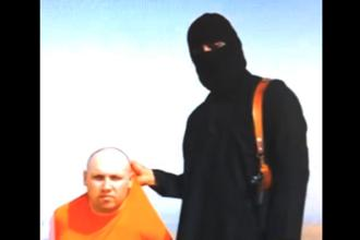 A grab from the beheading video of US journalist Steven Sotloff. Photo: AP