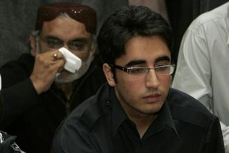 Bilawal, who has announced plans to contest next general elections in 2018, heads the secular Pakistan People's Party which officially wants good ties with India. Photo: AP