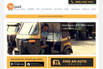 Bangalore-based start-up mGaadi helps passengers hire autorickshaws from their doorstep.