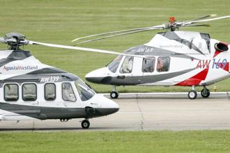 The supply of 12 VVIP helicopters from AgustaWestland came under the scanner after the Italian authorities alleged that bribe was paid by the company to clinch the deal. Photo: Bloomberg