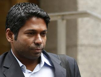 The settlement was filed on Thursday by the SEC in New York federal court, three months after a federal jury in Manhattan acquitted Rengan Rajaratnam of conspiring to engage in insider trading. Photo: Reuters
