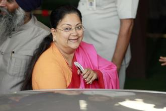 Vasundhara Raje-led Rajasthan government had forwarded the reforms to the centre after they were passed in the state assembly two months ago. Photo: Raj K. Raj/Mint