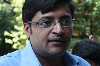 For any viral content creator today, including stand-up comics, Arnab Goswami is a gift that doesn't stop giving. Photo: Abhinav Srivastava/Wikimedia Common