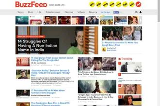 The partnership is the BuzzFeed's first major collaboration with an international messaging application.