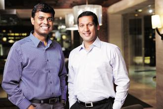 In 2009, Girish Ramdas and Vijayakumar Radhakrishnan (left), who were based in Chennai at the time, decided to develop a software which will make it easy to access and read magazines on a tablet or smart phone—with just a tap.