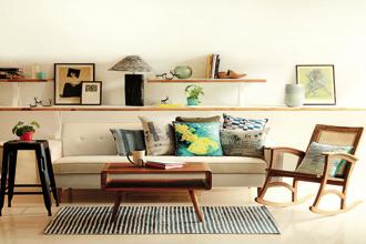 A living space designed by Latika Khosla.
