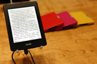In 2010, Amazon had 600,000 e-books in its Kindle store. Today it has more than 3 million. Photo: Bloomberg