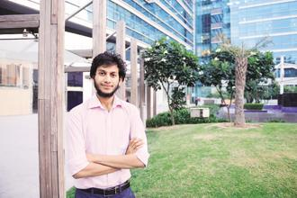 When he was 19, Ritesh Agarwal was selected for the Thiel Fellowship, a global contest in which he was the only winner from India. Photo: Ramesh Pathania/Mint