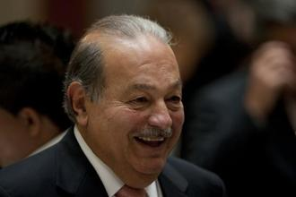 Carlos Slim gained the options after he lent the paper $250 million in January 2009 to help it get through a financial crisis. Photo: AFP