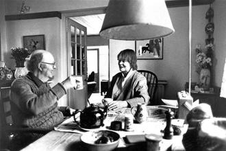 John Bayley and Iris Murdoch. Photo: Terry Smith/The LIFE Images Collection/Getty Images