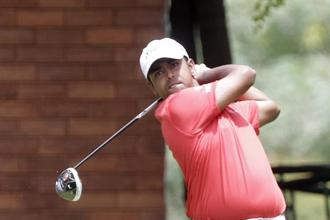 Three months after having to go to Qualifying School to earn his European Tour card, an excited Anirban Lahiri can look ahead to a season when he will compete in all four majors for the first time in his career. Photo: HT
