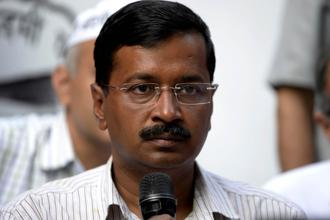 Arvind Kejriwal says his govt will provide a relief of Rs20,000 per acre to farmers who have faced losses due to crop damage. Photo: AFP