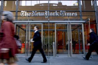 The NYT Now app, a slimmed-down version of the full $15-a-month digital subscription, is aimed at younger readers. Photo: Bloomberg