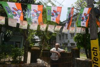 In the light of the violence witnessed on the two days of polling and the widespread allegations of electoral malpractices from opposition parties, poll analysts are sceptical about the real gains made by the Trinamool Congress. Photo: AFP