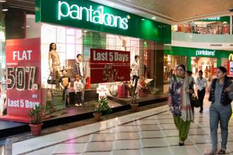 Shareholders of Aditya Birla Nuvo will get 26 new shares of Pantaloons Fashion for every five held in Aditya Birla Nuvo, pursuant to the demerger of Madura Fashion. Photo: Bloomberg
