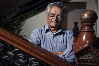 A file photo of S.V. Raju. Photo: Bloomberg