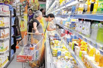 Same-store sales growth for value business that operates Big Bazaar is 7.6%, while that for home and consumer durables chains Home Town and eZone is 16.0%. Photo: Indranil Bhoumik/Mint
