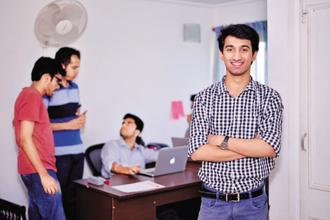 Armaan Shahanshah interned at PropheSee. Photo: Pradeep Gaur/Mint
