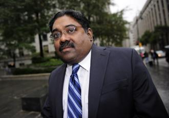 "Raj Rajaratnam, who the US called ""a master of the Rolodex"" for using company insiders to make more than $72 million in illegal profits, was tried and convicted in 2011. Photo: AFP"