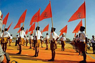 RSS is often called the world's largest NGO. Photo: Mint