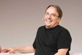 A file photo of Linus Torvalds. Torvalds may be the most influential individual economic force of the past 20 years. He didn't invent open-source software, but through Linux he unleashed the full power of the idea. Photo: Wikimedia Commons