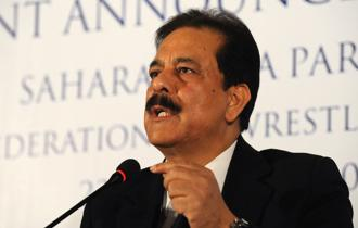 The court said Roy would have to go back to jail if Sahara failed to pay any of the three instalments. The <span class='WebRupee'>Rs.</span>5,000 crore bank guarantee would be liable to be encashed by Sebi if Sahara failed to pay any two instalments.  Photo: AFP
