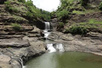 The Kal Mandavi waterfall. Photo: Nilesh Koli