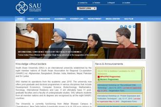 Conceived in 2005 by prime minister Manmohan Singh, SAU started its operations in the 2010 academic year.