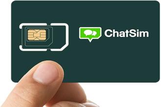 ChatSim is designed in such a way that the same chip can be used in all smartphones, irrespective of whether they use the standard, micro or nano size SIM cards.