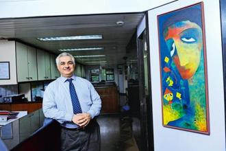 Pradeep Mahtani, CEO of website HelpYourNGO, which provides detailed financial records of non-profits to help donors pick and chose their organizations. Photo: Mint