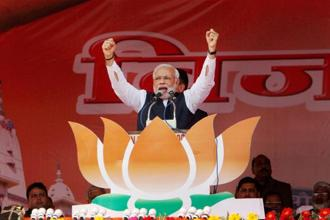 Narendra Modi likely to hold three public meetings in Bihar