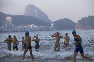 For athletes, Olympic goals outweigh the risks of Rio waters