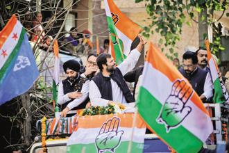 The Congress party may well sonn have a news channel. Photo: Pradeep Gaur/Mint