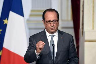 Officials say that President Francois Hollande may address the question during his twice-yearly press conference on Monday. Photo: AFP