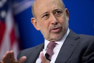Goldman Sachs Group Inc. chief executive officer Lloyd Blankfein.  Photo: Bloomberg