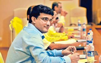 A file photo of former India captain Sourav Ganguly. Photo: Mint