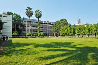 A file photo of Indian Institute of Technology Bombay that ranked in the 251-300 grouping. Photo: S. Kumar/Mint